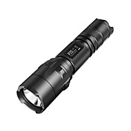 NITECORE P20  800 Lumens HAIII Tactical CREE XM-L2 T6 LED Flashlight Torch(1X118650/2XCR123, Black)