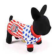 National Flag Football League Sports Shirt Captain Comfortable for Pets Dog Cat