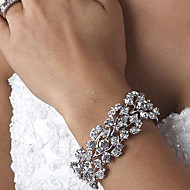 Γυναικεία Βραχιόλια με Φυλαχτά Στρας Κράμα Κοσμήματα Για Γάμου Πάρτι Καθημερινά Causal 1pc