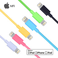 carve mfi gecertificeerd bliksem 8-pin usb sync data / oplaadkabel voor iPhone 5 / 5s / 6/6 plus ipad lucht / ari2 (100cm)