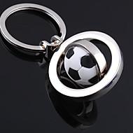 unisex slitina otočit fotbal Keychain klíč volný čas móda