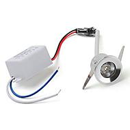 1W Verzonken lampen Verzonken ombouw 1 Krachtige LED lm Rood / Blauw / Geel / Groen AC 85-265 V 1 stuks