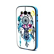 2-in-1 Dreambell Dreamcatcher Pattern TPU Back Cover with PC Bumper Shockproof Soft Case for Grand Neo i9060/i9082