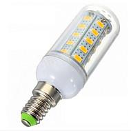 0EM Lâmpada Espiga Regulável E14 7 W 1020lm LM 2700-3200K K Branco Quente 36LED SMD 5730 1 pç AC 220-240 V C
