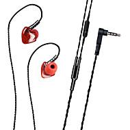 Plextone S50 Hörlurar (öronsnäcka)ForMediaspelare/Tablett Mobiltelefon DatorWithmikrofon DJ Spel Sport Bruskontroll Hi-Fi