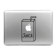 Hat-Prince Juice Box Designed Removable Decorative Skin Sticker for MacBook Air / Pro / Pro with Retina Display