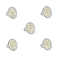 Focos GU5.3 6 W 60 SMD 2835 540 LM Blanco Cálido/Blanco Fresco DC 12 V 5 piezas