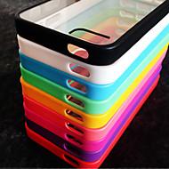 iPhone 5/아이폰 5S - 뒷면 커버 - 스페셜 디자인 ( 레드/블랙/화이트/그린/블루/핑크/퍼플/로즈 , 실리콘 )