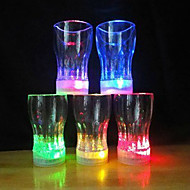 Multicolor Acrylic Bottle Pattern Night Light