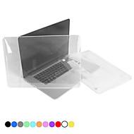 """poliwęglan ochronna półprzezroczysty pełne przypadek ciała kryształów dla MacBook Pro 13.3 """"z wyświetlaczem siatkówki"""