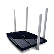 TP-LINK TL-wdr6300 gigabit dual band router wireless wifi 1200m parete wireless wang 4 quattro antenne