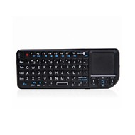 Touchpad Pro Mini  Wireless USB Handheld Keyboard and Multi-Touchpad w/ Laser Pointer for TVbox