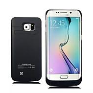 Samsung galaxy s6 kenar 4800ma yeni dış koruyucu pil kutusu (çeşitli renklerde)