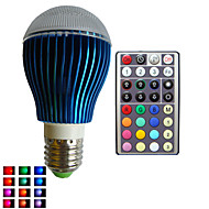 1pcs SchöneColors® E26/E27/B22/GU10 9W Dimmable/32Keys Remote-Controlled/Decorative Globe Bulbs Lamps AC85-265V