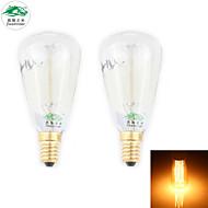 zweihnder E14 30w 400lm 2700-3000k hehkulamppu hehkulamppu lämmin valo kynttilän valossa (uudet tuotteet, ac 220-240V, 2kpl)