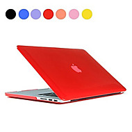 top selling effen kleur slanke kristal transparante harde full body case voor de MacBook Air 13,3 inch (verschillende kleuren)