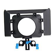 matte box m1 15 mm support de tige plate-forme rail 43mm vidéo 77 mm