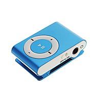 sanshuai® reproductor multimedia de música MP3 USB Mini clip de metal