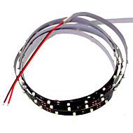 SENCART 1.2 M 90 3528 SMD Blanc Découpable/Intensité Réglable/Connectible/Pour Véhicules/Auto-Adhésives 5 WBandes Lumineuses LED