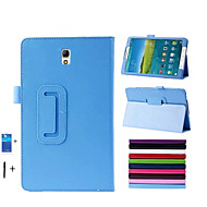 PU Leather Stand Case for Samsung Galaxy Tab s 8.4'' T700 Tablet Cover +Stylus Pen+Membrane