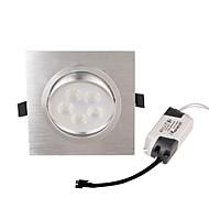 5W 埋込式ライト 5 ハイパワーLED 450 lm 温白色 装飾用 AC 85-265 V 2個