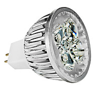Spot LED Gradable Blanc Chaud / Blanc Froid / Blanc Naturel MR16 GU5.3(MR16) 4W 4 LED Haute Puissance 360-400 LM DC 12 / AC 12 V