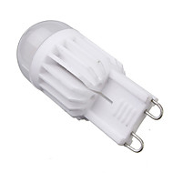 Dimmable G9 6W 2xCOB 540LM 2800-3200K/6000-6500K  Warm White/Cool White Light LED Corn Bulb (AC 110-130V/AC 220-240V)