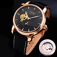 zegarek mechaniczny Nakręcanie automatyczne Skóra naturalna Pasmo
