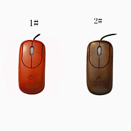 Good Quanlity A4TECH Handcrafted Wired Wooden Mouse Mice