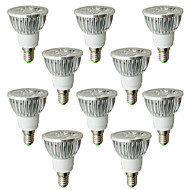 LOHAS® 10PCS E14 6W 530-580LM 2800-3200K Warm White Light LED Spot Bulb (AC 110-240V)