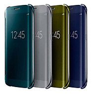 Crystal Mirror Full Body Case for Samsung Galaxy S6 Edge G9250(Assorted Colors)