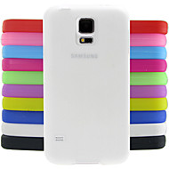 Solid Color Jelly Silicone Case Design Pattern For Samsung Galaxy S5 Mini