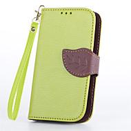 Mert Nokia tok Pénztárca / Kártyatartó / Állvánnyal Case Teljes védelem Case Egyszínű Kemény Műbőr NokiaNokia Lumia 930 / Nokia Lumia 925