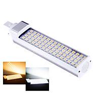 1 pcs Ding Yao G24 12W 64SMD 5050 650-750LM 2800-3500/6000-6500K Warm White/Cool White Bi-pin Lights AC 85-265V