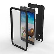 Varten Samsung Galaxy Note Iskunkestävä / Pölynkestävä Etui Takakuori Etui Panssari PC Samsung Note 4