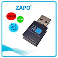 mini usb carta Zapo w77usb wireless scheda di rete rtl8192 300m scheda wireless wifi ricevitore wireless senza fili