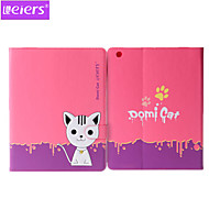 Leiers™ Domi Cat 2nd PU+TPU Leather Ultra-thin Case 3D Cartoon Lovely Cover With Card Slot Stand for ipad mini 1/2/3