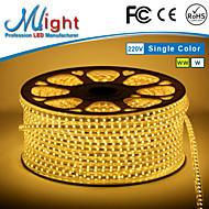 Mlight M 72 leds/m 5050 SMD Warm White/Hvid Vandtæt/Chippable 3 W Fleksible LED-lysstriber AC110-220 V