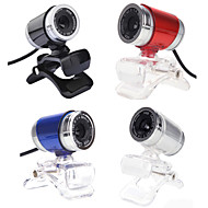 2015 nueva 12m 2.0 hd leva cámara Web del webcam cámara web de vídeo digital con micrófono para el ordenador portátil PC de la computadora
