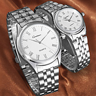 Couple's Dress Watch Japanese Quartz Water Resistant Stainless Steel Wrist watch