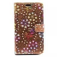diamant růže vzory peněženka karet PU kůže celého těla pouzdro pro Samsung Galaxy grand nultý G530 (Smíšený Barva)