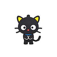 cartoon neue schwarze nette Katze USB 2.0 Speicher Flash-Stick-Stick 8gb