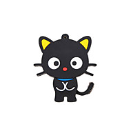 Cartoon New Black Cute Cat USB 2.0 Memory Flash Stick Pen Drive 8GB