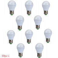 10pcs HRY® 3W E27 250LM 10XSMD2835 LED Globe Bulbs LED Light Bulbs(220V)