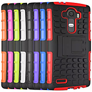For LG Case Shockproof / with Stand Case Back Cover Case Armor Hard PC LG