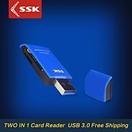 ssk® scrm331 usb 3.0 kaikki 1-kortinlukija laadukkaita super nopeus siirto