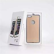 icestar nya qi standard trådlös laddare mottagare bakstycket + trådlös sändare speciellt för iPhone 6 / plus
