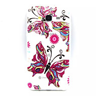 For Samsung Galaxy Case Transparent / Embossed Case Back Cover Case Butterfly TPU Samsung J7 / J5