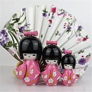 Home Decoration Japanese Kokeshi Doll Original Wood Geisha Doll Cute Girl Doll Best Holiday Gift
