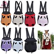 FUN OF PETS®Dog Front Chest Backpack Pet Bag Five Holes Backpack Dog Outdoor Carrier Tote Bag Sling Holder Mesh